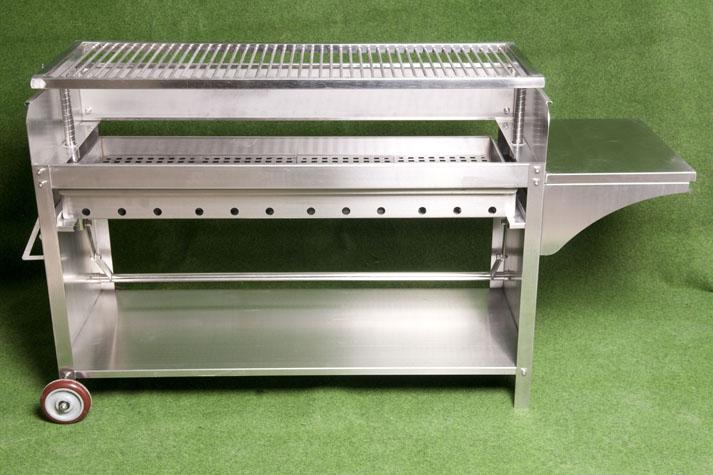 deluxe edelstahlgrill xxl holzkohle edelstahl grill. Black Bedroom Furniture Sets. Home Design Ideas