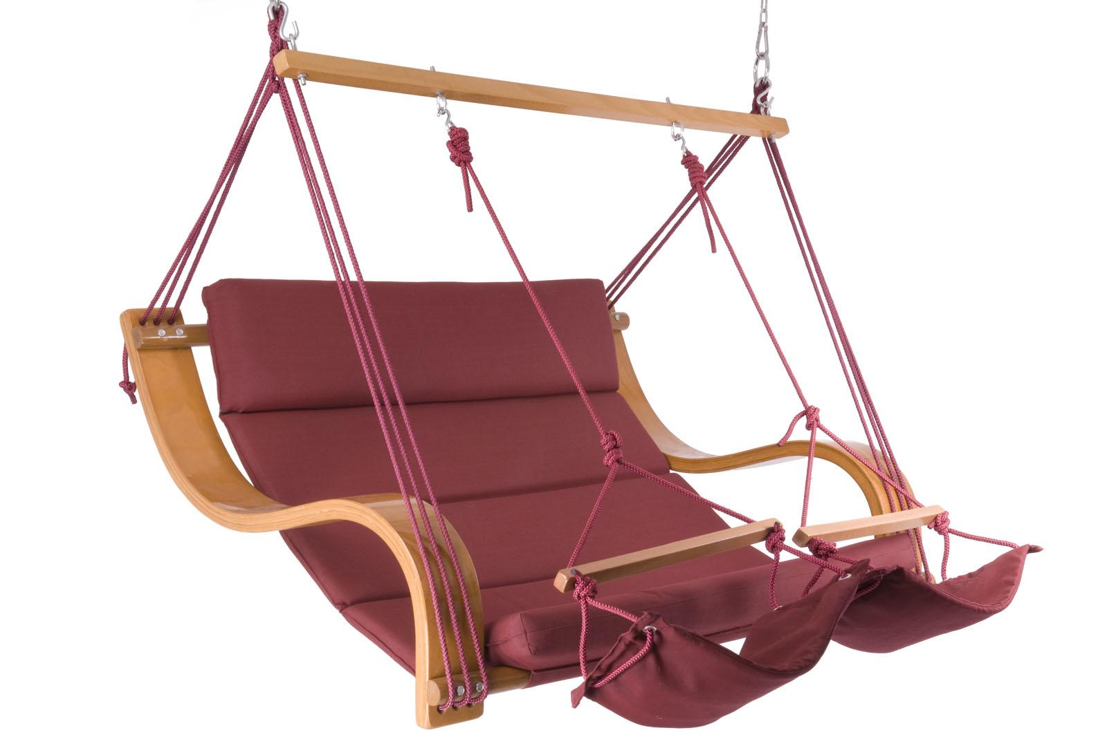 neu edeler luxus doppel h ngestuhl farbwahl ebay. Black Bedroom Furniture Sets. Home Design Ideas