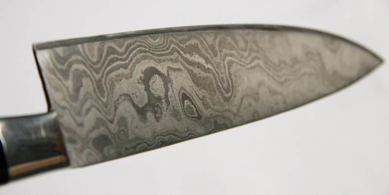 Küchenmesser aus Damaszener Stahl -B-Ware - rojo24.de